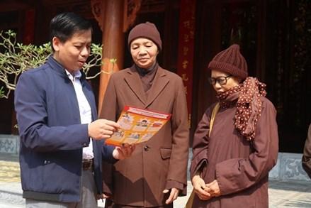 Thái Bình: Tăng, ni cảnh giác trước các thông tin giả, có tính mê tín về dịch bệnh Covid-19