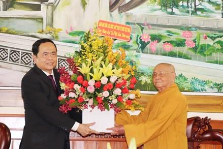 Chủ tịch Trần Thanh Mẫn gửi thư chúc mừng Đại lễ Phật đản năm 2020 - PL.2564