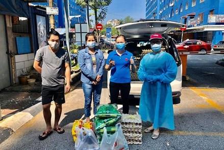 Dịch Covid-19: Ấm tình người Việt ở Malaysia
