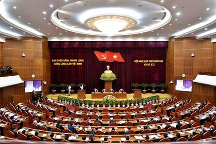 Khai mạc trọng thể Hội nghị lần thứ 12 Ban Chấp hành Trung ương Đảng Khóa XII