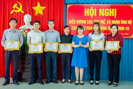 TP. Nha Trang: Biểu dương, khen thưởng các tập thể, cá nhân đóng góp tích cực trong công tác phòng, chống dịch Covid-19
