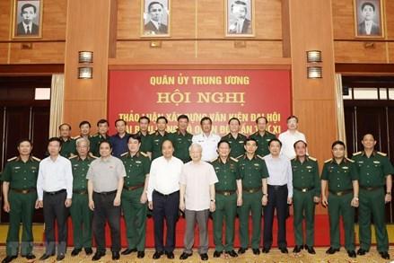 Chuẩn bị thật tốt nhân sự Quân đội tham gia Trung ương khóa mới