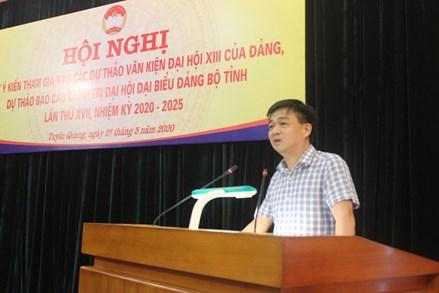 MTTQ tỉnh Tuyên Quang tổ chức lấy ý kiến tham gia vào dự thảo các văn kiện đại hội Đảng
