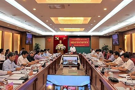 Thông cáo báo chí kỳ họp 45 của Ủy ban Kiểm tra Trung ương