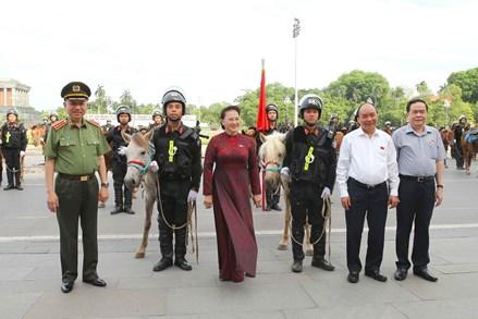 Bộ Công an ra mắt lực lượng Cảnh sát cơ động kỵ binh