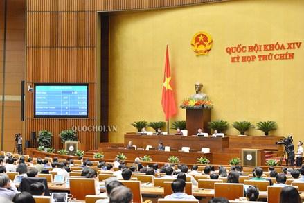 Quốc hội thông qua Nghị quyết phê chuẩn EVIPA