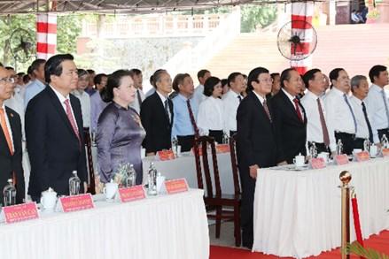 Lễ kỷ niệm 110 năm Ngày sinh đồng chí Nguyễn Hữu Thọ