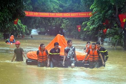 Chủ tịch Trần Thanh Mẫn gửi điện thăm hỏi tới các gia đình bị thiệt hại do mưa lũ gây ra tại tỉnh Hà Giang