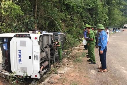 Chủ tịch Trần Thanh Mẫn gửi điện thăm hỏi tới gia đình các nạn nhân gặp tai nạn giao thông tại tỉnh Quảng Bình