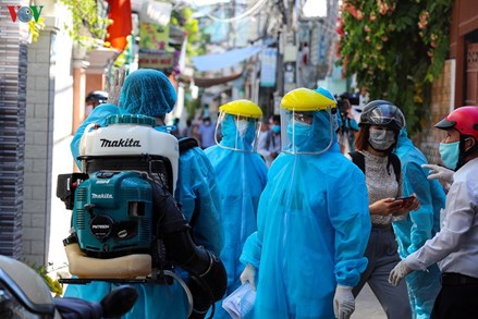 Thêm 11 ca mắc Covid-19 tại Đà Nẵng, trong đó có 4 nhân viên y tế