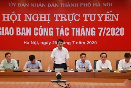 Chủ tịch Hà Nội: Khởi động lại toàn bộ hệ thống phòng, chống COVID-19