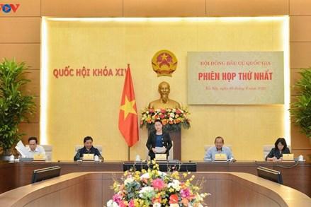 Chủ tịch UBTƯ MTTQ Việt Nam Trần Thanh Mẫn tham dự Phiên họp thứ Nhất Hội đồng Bầu cử quốc gia