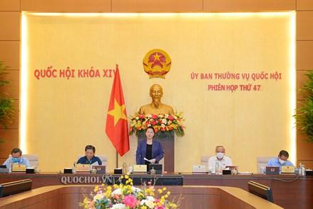 Ủy Ban Thường vụ Quốc hội khai mạc phiên họp thứ 47