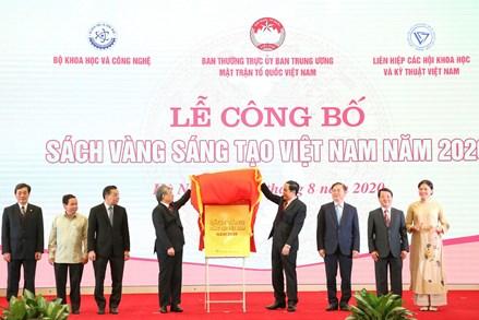 Vinh danh 75 công trình trong Sách vàng Sáng tạo Việt Nam năm 2020