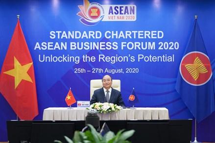 Thủ tướng chia sẻ quyết sách hợp tác kinh tế mạnh mẽ của ASEAN