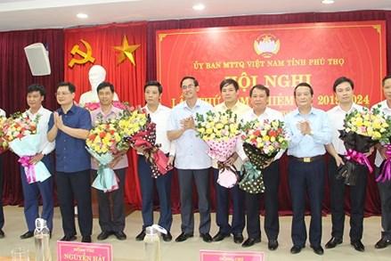 Ủy ban MTTQ Việt Nam tỉnh Phú Thọ có Phó Chủ tịch mới