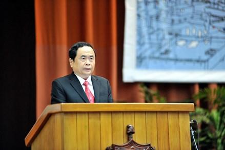 Chủ tịch Trần Thanh Mẫn gửi điện chúc mừng Tân Chủ tịch Ủy ban Bảo vệ Cách mạng Cuba
