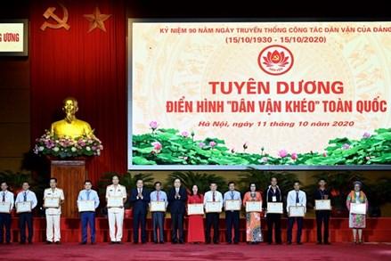 Công tác dân vận góp phần củng cố khối đại đoàn kết toàn dân tộc