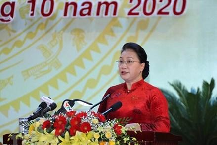 Chủ tịch Quốc hội dự Đại hội đại biểu Đảng bộ tỉnh Khánh Hòa