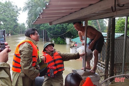 MTTQ tỉnh kêu gọi ủng hộ Nhân dân Hà Tĩnh bị thiệt hại do mưa lũ