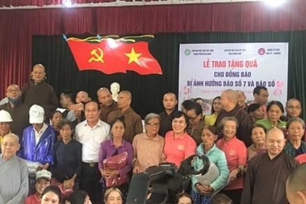 Quảng Nam: Trao 1.000 suất quà cho bà con bị ảnh hưởng lũ lụt