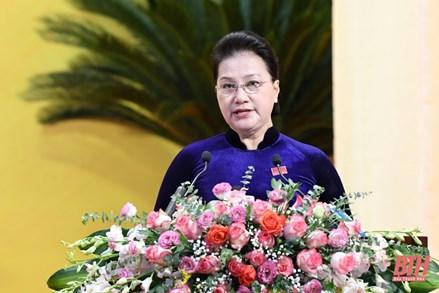 Chủ tịch Quốc hội: Thanh Hóa cần triển khai đồng bộ các giải pháp, sớm trở thành cực tăng trưởng mới