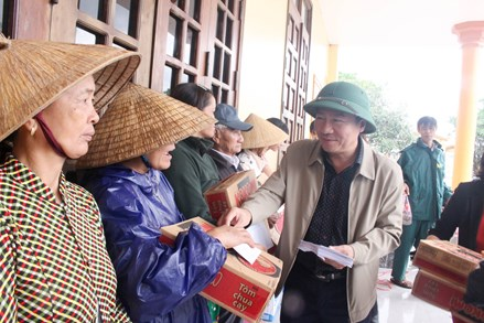 Quảng Trị: Tiếp nhận hơn 47 tỷ đồng ủng hộ người dân bị thiệt hại do bão lũ