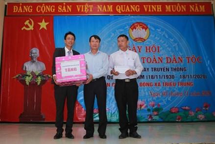 Quảng Trị: Sôi nổi Ngày hội đại đoàn kết toàn dân tại thôn Ngô Xá Đông