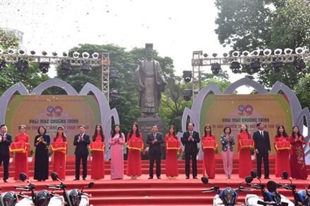 Hà Nội: Sôi nổi các hoạt động kỷ niệm 90 năm ngày truyền thống Mặt trận