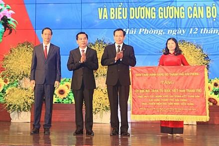 Phát huy sức mạnh đại đoàn kết toàn dân tộc để xây dựng Hải Phòng ngày càng giàu đẹp
