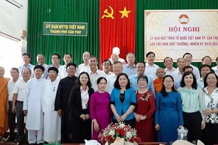 Ông Nguyễn Trung Nhân giữ chức Chủ tịch Mặt trận TP Cần Thơ