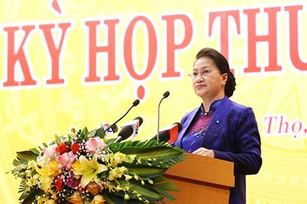 Chủ tịch Quốc hội dự Kỳ họp HĐND tỉnh Phú Thọ