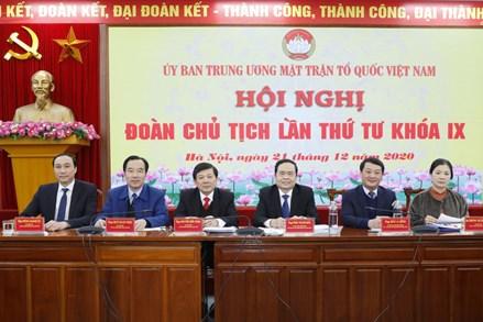 Khai mạc Hội nghị Đoàn Chủ tịch Ủy ban Trung ương MTTQ Việt Nam lần thứ tư, khóa IX