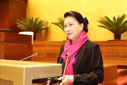 Chủ tịch Quốc hội dự Hội nghị triển khai nhiệm vụ công tác của Văn phòng Quốc hội
