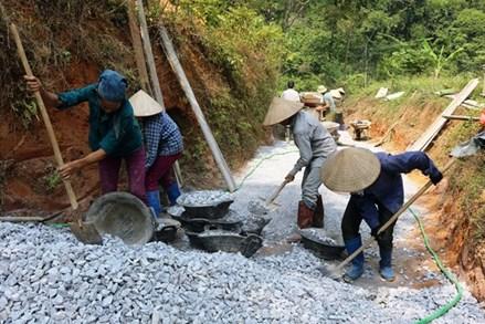 Xây dựng nông thôn mới: Mặt trận vào cuộc cùng nhân dân