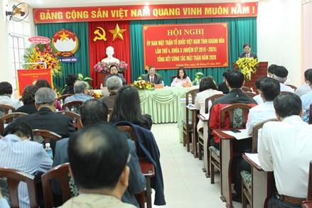 Mặt trận Khánh Hòa chú trọng chăm lo người nghèo
