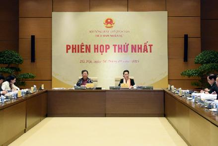 Tiểu ban Nhân sự, Hội đồng Bầu cử quốc gia họp phiên thứ nhất
