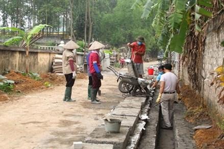 Nhóm nòng cốt xây dựng nông thôn mới ở Vĩnh Phúc