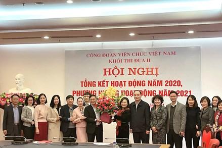 Khối thi đua II – Công đoàn Viên chức Việt Nam tổng kết hoạt động năm 2020