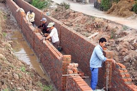 Khơi sức dân xây nông thôn mới