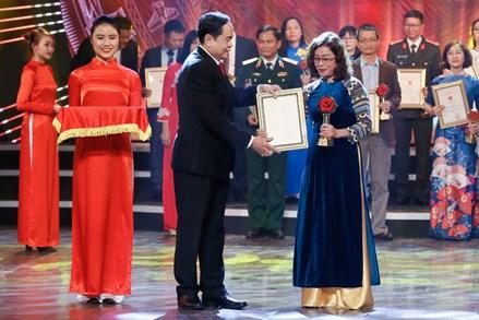 Chủ tịch UBTƯ MTTQ Việt Nam Trần Thanh Mẫn dự Lễ trao Giải báo chí toàn quốc về xây dựng Đảng