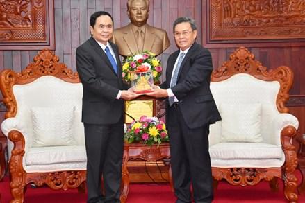 Chủ tịch Trần Thanh Mẫn gửi thư chúc mừng thành công Đại hội đại biểu toàn quốc Đảng Nhân dân Cách mạng Lào