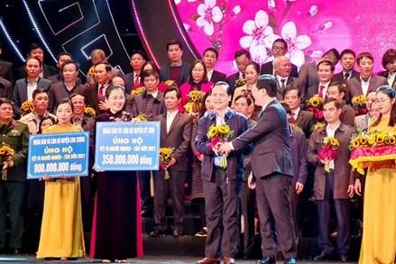 Nghệ An: Gần 90 tỷ đồng ủng hộ 'Tết vì người nghèo'
