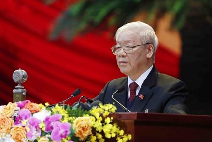 Toàn văn phát biểu của Tổng Bí thư, Chủ tịch nước Nguyễn Phú Trọng tại Đại hội đại biểu toàn quốc lần thứ XIII Đảng Cộng sản Việt Nam