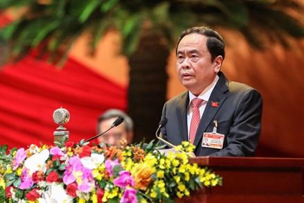 Toàn văn tham luận của Chủ tịch UBTƯ MTTQ Việt Nam Trần Thanh Mẫn tại Đại hội đại biểu toàn quốc lần thứ XIII của Đảng
