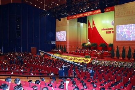 Ngày 29/1, Đại hội XIII của Đảng tiếp tục làm việc về công tác nhân sự