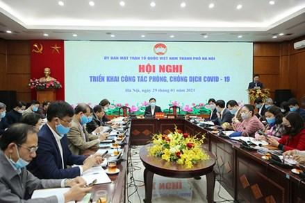 MTTQ Hà Nội khẩn trương triển khai công tác phòng chống dịch Covid-19