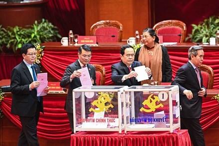 Chủ tịch Ủy ban Trung ương MTTQ Việt Nam Trần Thanh Mẫn được bầu vào Bộ Chính trị khóa XIII