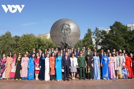 Kiều bào tại Nga tin tưởng vào Ban chấp hành Trung ương Đảng khóa XIII