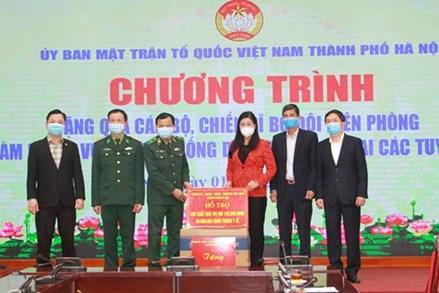 Mặt trận Hà Nội hỗ trợ công tác phòng dịch Covid -19 trên địa bàn Thủ đô